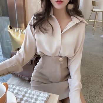 Елегантна дамска риза в два цвята