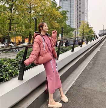 Νέο μπουφάν με κουκούλα σε τρία χρώματα
