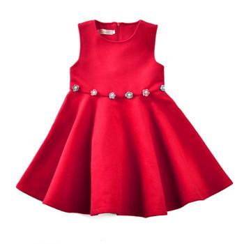 Παιδικό φόρεμα για κορίτσια σε κόκκινο χρώμα - Badu.gr Ο κόσμος στα ... f8ffeda0748