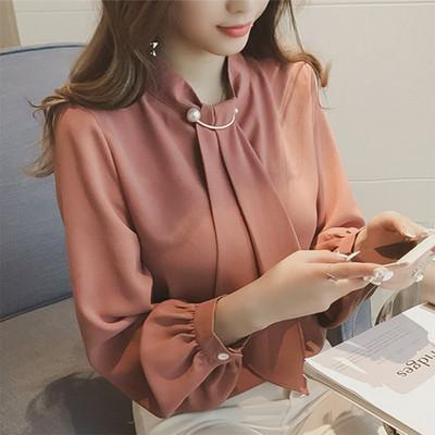 Елегантна дамска риза в няколко цвята