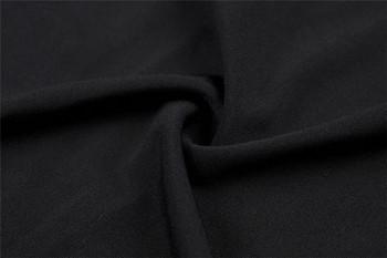 Дамска рокля в черен и бял цвят