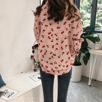 Модерна дамска риза в два цвята спринт