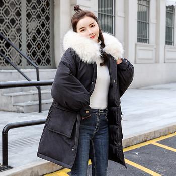 Μοντέρνο μοντέλο γυναικείο μπουφάν  με μεγάλες τσέπες σε διάφορα χρώματα