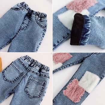 Μοντέρνα παιδικά τζιν για κορίτσια με ελαστική μέση - Badu.gr Ο ... 15de20d4728