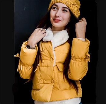 Αθλητικό-καθημερινό μπουφάν με μαλακή επένδυση κοντό μοντέλο με διάφορα χρώματα