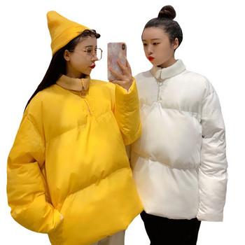 Νέο μοντέλογυναικείο μπουφάν με τσέπες σε τρία χρώματα