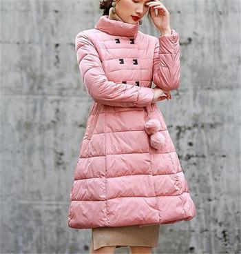 Κομψό γυναικέιο χειμωνιάτικο μπουφάν σε διάφορα χρώματα