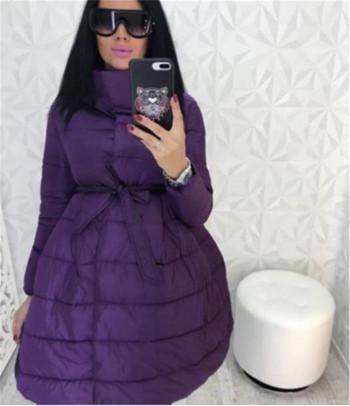 Καθημερινό γυναικέιο χειμωνιάτικο μπουφάν σε διάφορα χρώματα