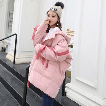 Χειμερινό χειμωνιάτικο  γυναικέιο μπουφάν σχέδιο με ζεύξεις σε διάφορα χρώματα