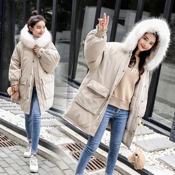 Χειμερινό ανδρικό μπουφάν  με μεγάλες τσέπες σε διάφορα χρώματα