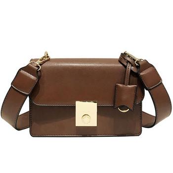Стилна дамска чанта от еко кожа - четири цвята