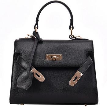 Модерна дамска чанта от еко кожа - пет цвята