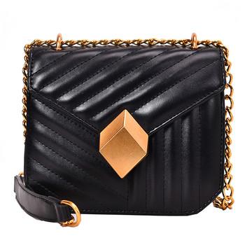 Малка ежедневна чанта от еко кожа в пет цвята