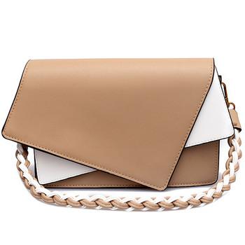 Уникална дамска чанта от еко кожа в три цвята