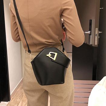 Γυναικεία τσάντα   από οικολογικό δέρμα σε τέσσερα χρώματα