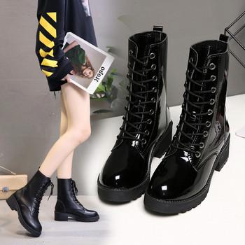 Дамски ботуши в черен цвят - два модела