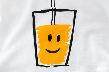 Детска тениска за момчета с къс ръкав и апликация в бял цвят