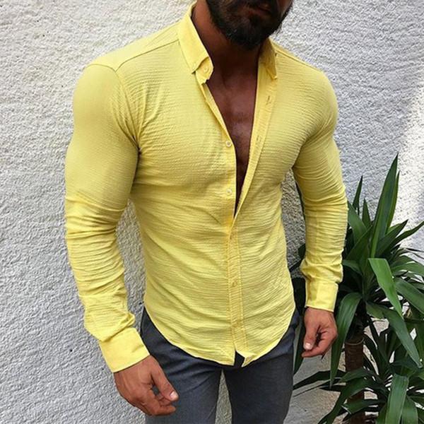 Κομψό ανδρικό πουκάμισο Λεπτό μοντέλο σε διάφορα χρώματα - Badu.gr Ο κόσμος  στα χέρια σου ea3071b2f08