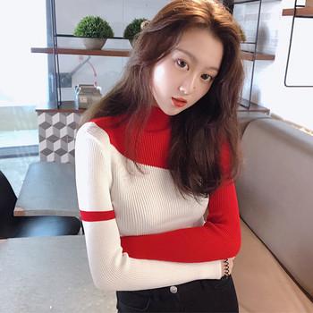 Дамски изчистен пуловер в четири цвята