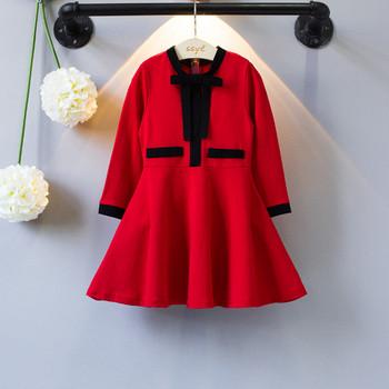 Παιδικό μοντέρνο σχέδιο φόρεμα σε κόκκινο χρώμα - Badu.gr Ο κόσμος ... ed378529351