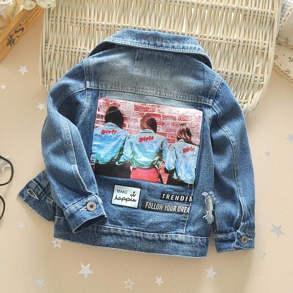 Παιδικό μπουφάν τζιν για αγόρια με σχισμένα μοτίβα - Badu.gr Ο κόσμος στα  χέρια σου f9ca9387b92