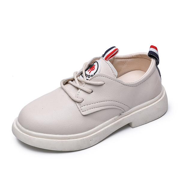 Μοντέρνα παιδικά παπούτσια σε κρέμ και μαύρο χρώμα για κορίτσια - Badu.gr Ο  κόσμος στα χέρια σου 9872ec90e78