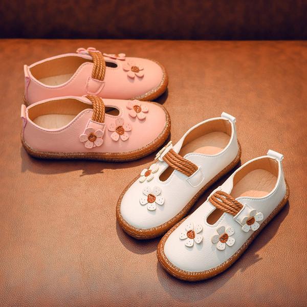 Παιδικά παπούτσια για κορίτσια σε λευκό και ροζ χρώμα - Badu.gr Ο κόσμος  στα χέρια σου 5b80f421f61