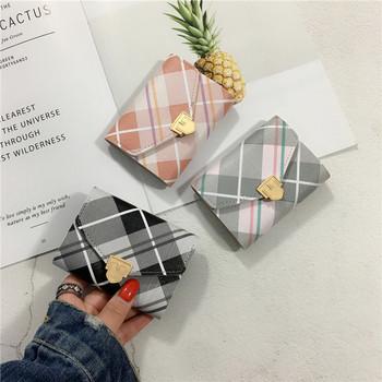 Μοντέρνο μικρό γυναικείο χαρτοφυλάκιο σε τέσσερα χρώματα