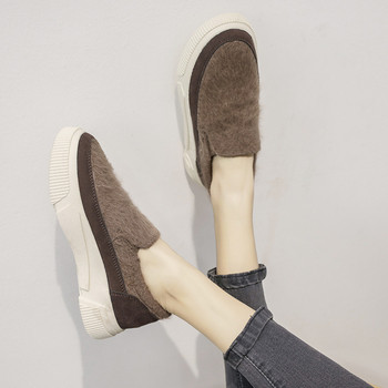 Μοντέρνα γυναικεία παπούτσια σε δύο χρώματα - καφέ και μαύρο - Badu ... b8c6c0c9b94