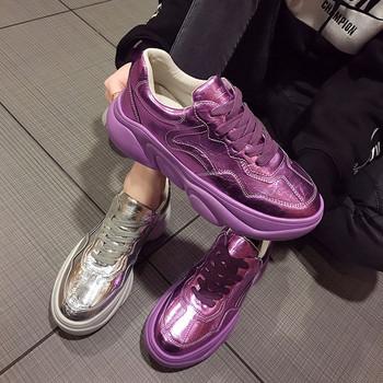 76d260c24e8 НОВО Модерни дамски маратонки в два цвята - Badu.bg - Светът в ръцете ти
