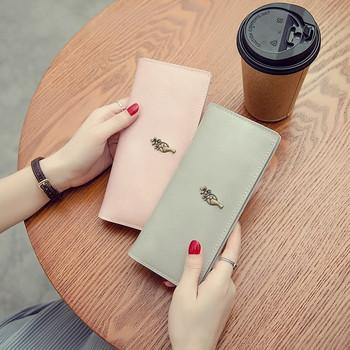 Γυναικείο πορτοφόλι σε πέντε χρώματα από οικολογικό δέρμα