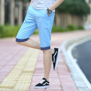 Стилни мъжки къси  панталони в няколко цвята
