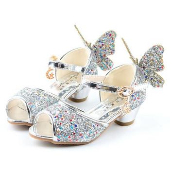 Елегантни детски сандали за момичета в няколко цвята - два модела