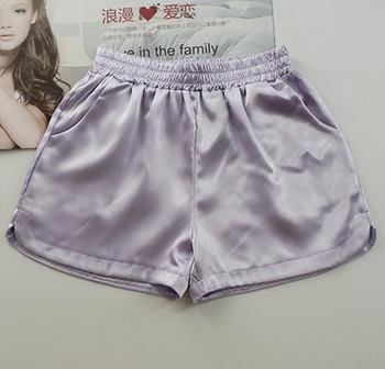 Дамски къси панталони с джобове в четири цвята