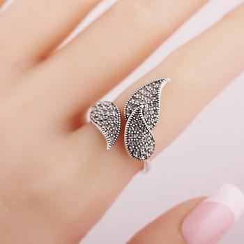 Ежедневен дамски пръстен с камъни