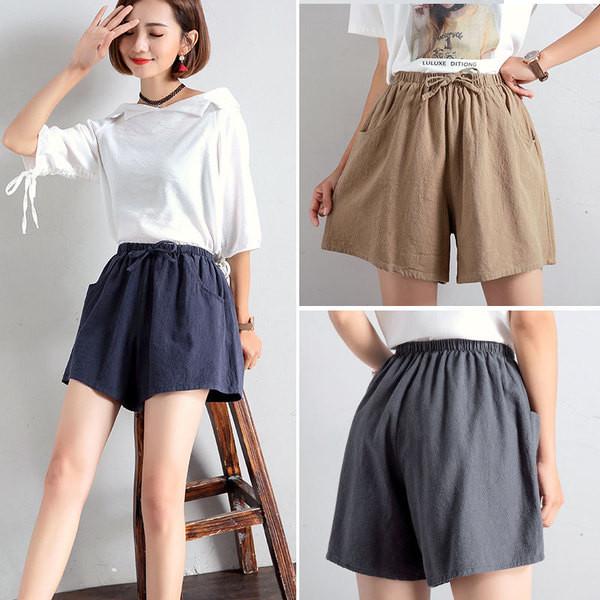 9783dd900ba Модерни дамски къси панталони в пет цвята - Badu.bg - Светът в ръцете ти