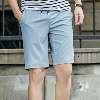 Мъжки ежедневни къси панталони в три цвята с връзки
