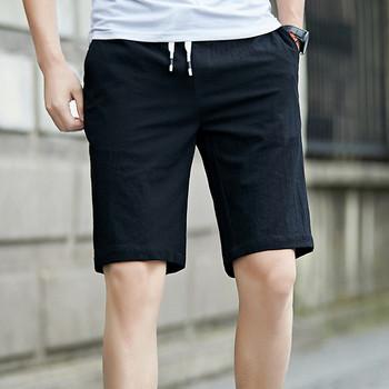 Мъжки къси панталони в четири цвята с връзки
