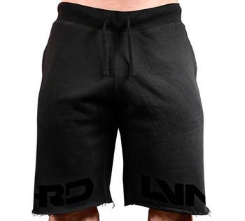Модерни мъжки къси панталони с надпис в три цвята