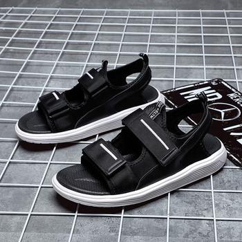 Мъжки сандали в черен цвят