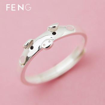Модерен дамски пръстен в сребрист цвят-регулируем модел
