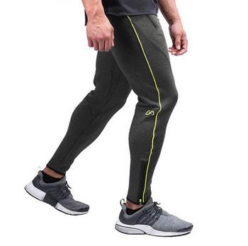 Модерен мъжки спортен панталон в четири цвята с цветен кант