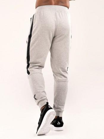 Модерен мъжки спортен панталон в два цвята с апликация