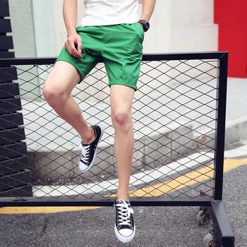 Модерни мъжки къси дънки в различни цветове