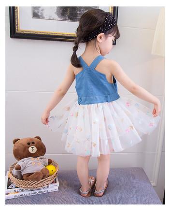 3cef28c14d69 Μοντέρνο παιδικό φόρεμα με κέντημα - Badu.gr Ο κόσμος στα χέρια σου