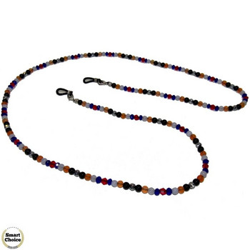 Връзка за очила с естествени камъни Ахат, Оникс и Хематит