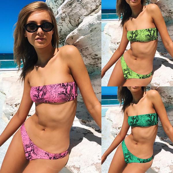 10fc6749715 Актуален дамски бански костюм от две части със свалящи се презрамки в три  цвята - Badu.bg - Светът в ръцете ти