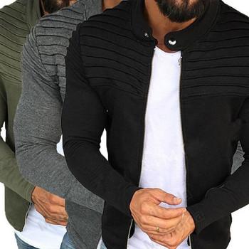 Мъжко модерно пролетно яке в три цвята