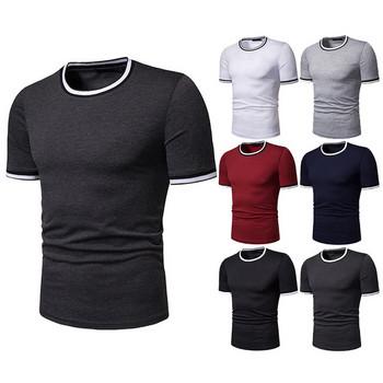 3b64d78a18cd Ανδρικό καθημερινό T-Shirt απαλό μοντέλο σε διαφορετικά χρώματα ...