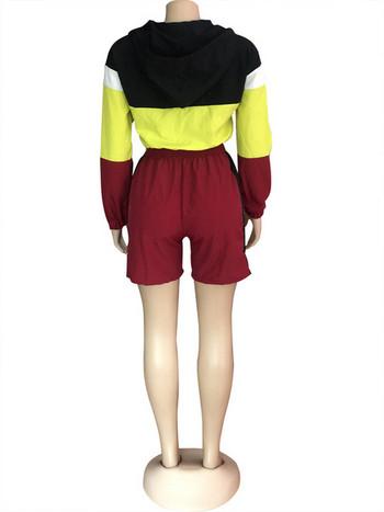 Αθλητική γυναικεία σαλοπέτα με μακριά μανίκια σε διάφορα χρώματα